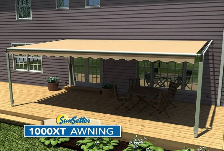 Retractable & Sunsetter Awnings in Colorado Springs, CO